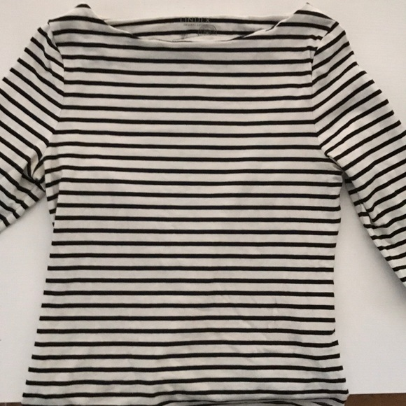 d8c8c39a Lindex Tops | Boatneck Striped Tshirt French Girl Style | Poshmark
